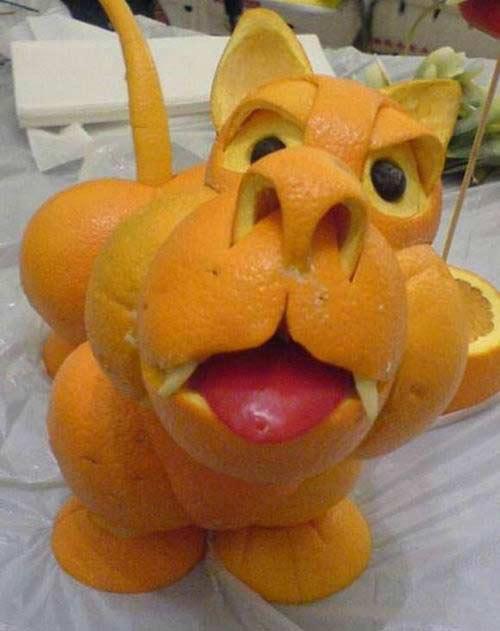 Поделка из апельсина в детский сад 33