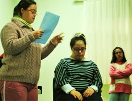 Zihinsel engellilerin mesleki eğitimi