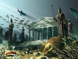 Google kayıp Atlantis'i buldu!