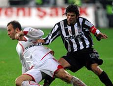 Sivas ve BJK 1-1'lerini �zmedi!