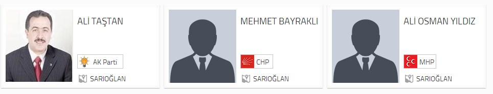 Sarıoğlan Belediye Başkan adayları