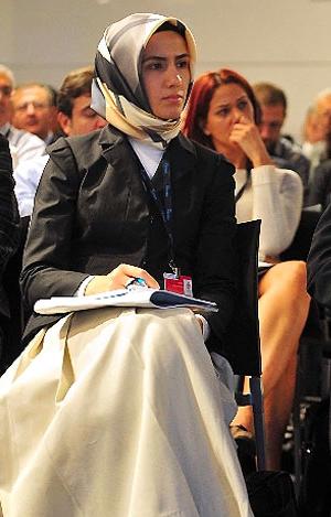 Sümeyya erdoğan, başbakan Erdoğan'ın kızı