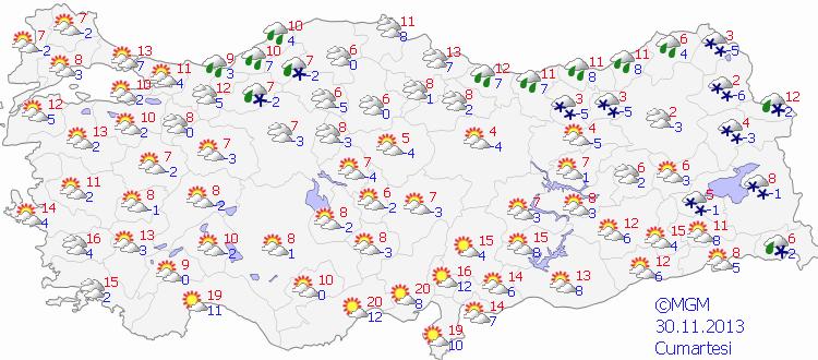 Meteorolojiden kar ve yağmur uyarısı
