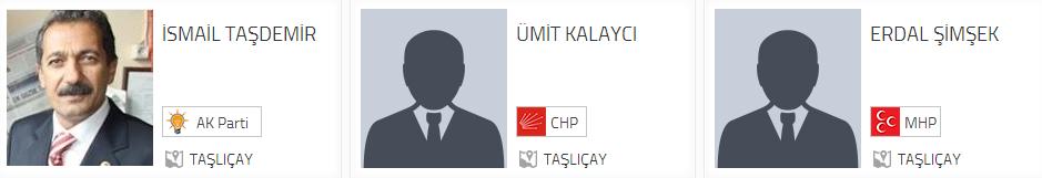 Ağrı Taşlıçay Belediye Başkan adayları