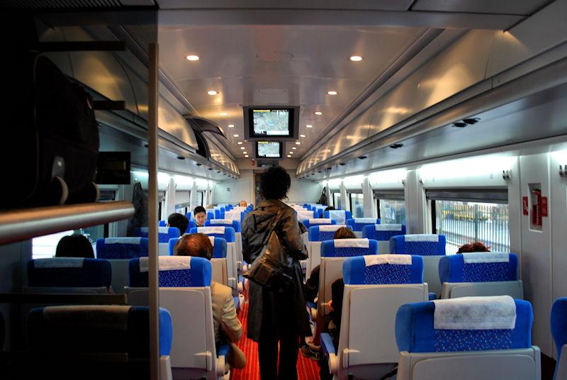 Train travel in Turkey . . .