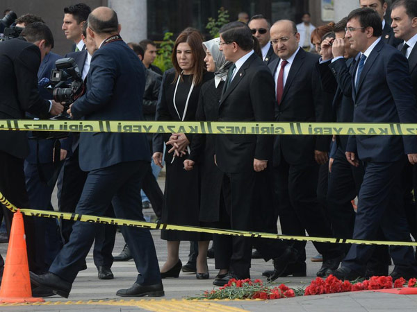 davutoğlu ankara patlama